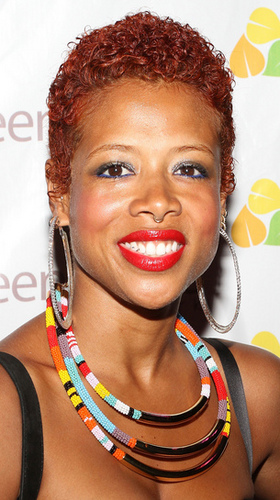 Kelis - Redhead, Celebrities, Very short hair styles, Kinky hair, Female, Teeny weeny afro Hairstyle Picture
