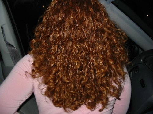 Me - Redhead, 3b, 3a, Medium hair styles, Female, Adult hair, Spiral curls Hairstyle Picture