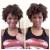 First time doing a perm rod set on my 3C hair