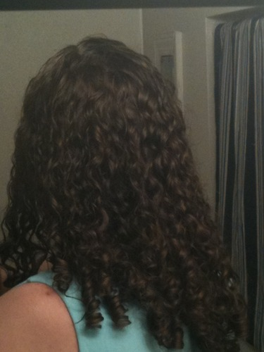 Me - Brunette, 3b, Long hair styles, Readers, Female, Curly hair, Adult hair, Spiral curls Hairstyle Picture