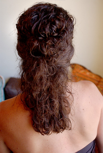 Finished Look - Brunette, Wavy hair, Medium hair styles Hairstyle Picture
