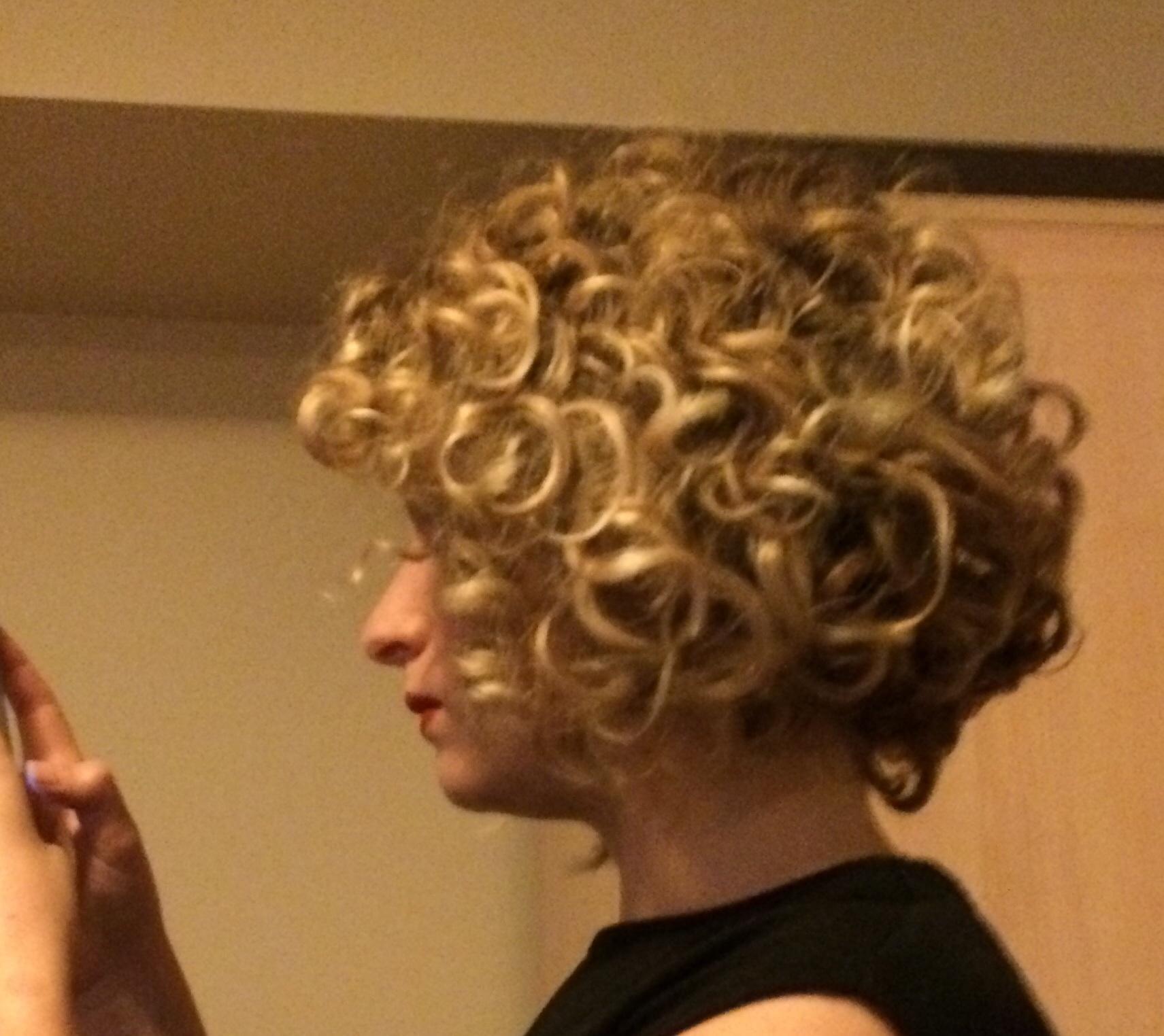 First Cg Week Curly Bob By Curliegoosie