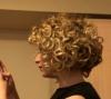 First CG week/ curly bob