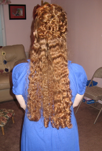 the back  - Redhead, 3b, Long hair styles, Readers, Female, Curly hair, Adult hair Hairstyle Picture