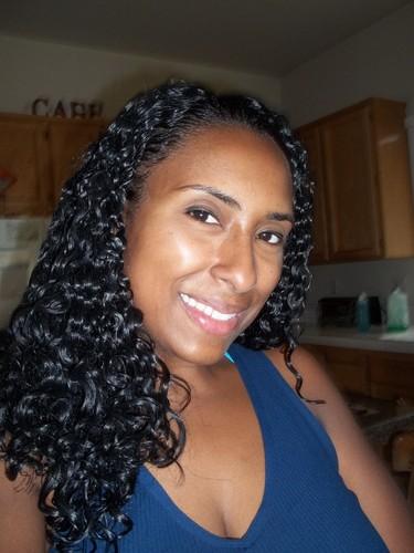 September Curls - 3b, Long hair styles, Female, Curly hair, Black hair, Adult hair Hairstyle Picture