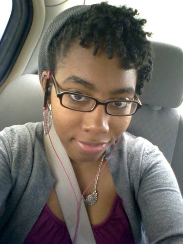 Twist Out - 4b, Readers, Female, Black hair, 4c Hairstyle Picture