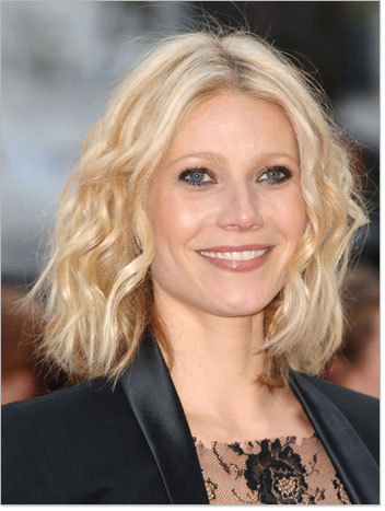 Gwyneth Paltrow - Blonde, Celebrities, Wavy hair, Medium hair styles, Curly hair, Bob hairstyles Hairstyle Picture