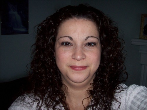 My flat hair just before new cut - Brunette, 3b, Medium hair styles, Readers, Female, Curly hair, Adult hair Hairstyle Picture