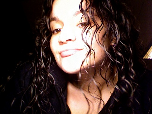 Loving the curls - Brunette, Long hair styles, Readers, Female, Curly hair, Black hair, Adult hair Hairstyle Picture