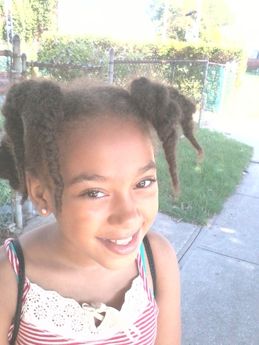 My baby girl - Medium hair styles, Kids hair, Kinky hair, Female, Black hair Hairstyle Picture