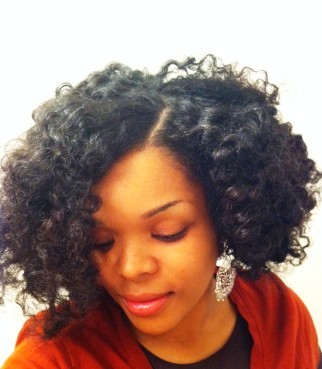 Bantu Knot Out - 3c, Medium hair styles, Readers, Female, Curly hair, Black hair, Adult hair, Bantu knot out Hairstyle Picture
