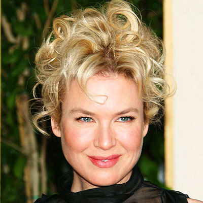 Renee Zellweger - Blonde, Celebrities, Wavy hair, Short hair styles, Female, Curly hair, Adult hair Hairstyle Picture