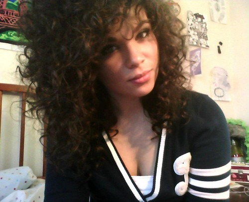 :D - Brunette, 3b, 3a, Long hair styles, Readers, Styles, Female, Curly hair, Teen hair, Adult hair, Spiral curls Hairstyle Picture