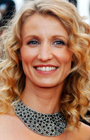 Alexandra Lamy - Blonde, Celebrities, Wavy hair, Long hair styles, 2c, Adult hair Hairstyle Picture