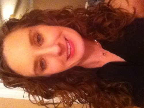 2 Months Curly Girl - Brunette, 3a, Medium hair styles, Readers, Female, 2c, Adult hair Hairstyle Picture