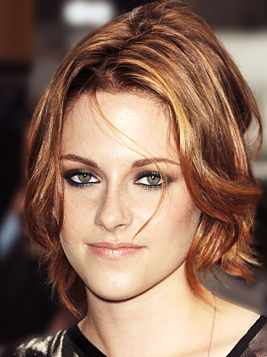 Kristen Stewart - Redhead, Celebrities, Wavy hair, Short hair styles, Female, Bob hairstyles Hairstyle Picture