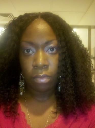 more big hair - Brunette, Long hair styles, Readers, Female, Black hair, Adult hair, Curly kinky hair Hairstyle Picture
