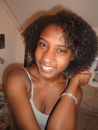 Me Naturally - Brunette, Short hair styles, Readers, Female, Curly hair, Teen hair, Black hair Hairstyle Picture