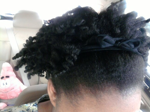 My very first kinky twist out - 4a, Medium hair styles, Kinky hair, Twist hairstyles, Readers, Female, Black hair, Adult hair, Twist out, Coil out, Natural Hair Celebration Hairstyle Picture