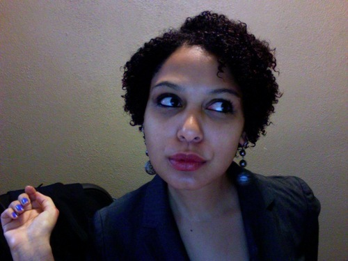 One year after the Big Chop - 3c, 4a, Short hair styles, Kinky hair, Readers, Curly hair, Curly kinky hair Hairstyle Picture