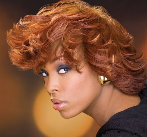 Design Essentials - Redhead, Medium hair styles, Kinky hair, Styles, Female Hairstyle Picture