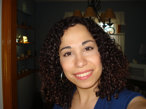 My air-dried curls :) - Brunette, 3b, Medium hair styles, Readers, Female, Adult hair, Spiral curls Hairstyle Picture