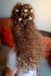 Creative Curly Half Up Half Down