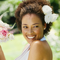 wedding.jpeg - Short hair styles, Wedding hairstyles, Female, Curly hair, Black hair, Adult hair Hairstyle Picture