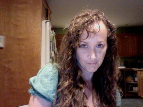 Pj 1 week after Keratin - Brunette, 3b, 3c, Long hair styles, Readers, Female, Curly hair, Adult hair Hairstyle Picture