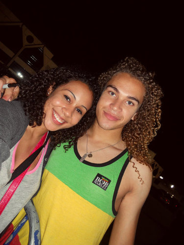 Me with DeAndre Brackensick from - Celebrities, Male Hairstyle Picture