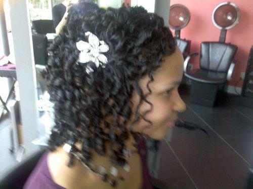 My wedding do! - 3c, Short hair styles, Medium hair styles, Long hair styles, Wedding hairstyles, Female, Curly hair, Teen hair, Black hair, Adult hair, Prom hairstyles, Formal hairstyles Hairstyle Picture