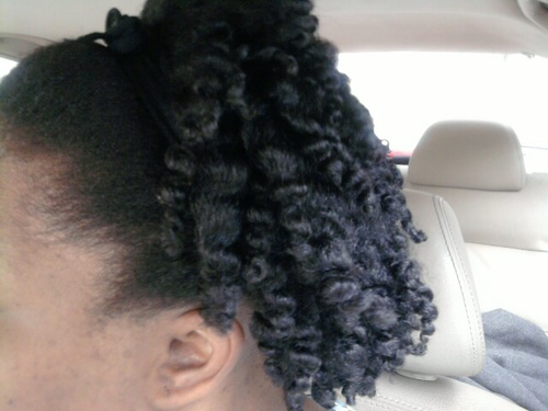 Kinky twist out - 4a, Medium hair styles, Kinky hair, Twist hairstyles, Readers, Female, Black hair, Adult hair, Twist out, Coil out, Natural Hair Celebration Hairstyle Picture