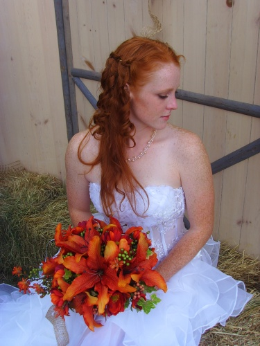 Red Waterfall - Redhead, 3a, Long hair styles, Braids, Wedding hairstyles, Readers, Female, Adult hair Hairstyle Picture