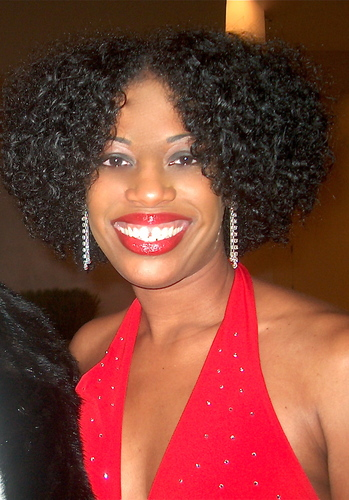HPIM0527.JPG - Brunette, Medium hair styles, Kinky hair, Twist hairstyles, Readers, Special occasion, Female, Black hair, Holiday Party Curls, Adult hair, Formal hairstyles Hairstyle Picture