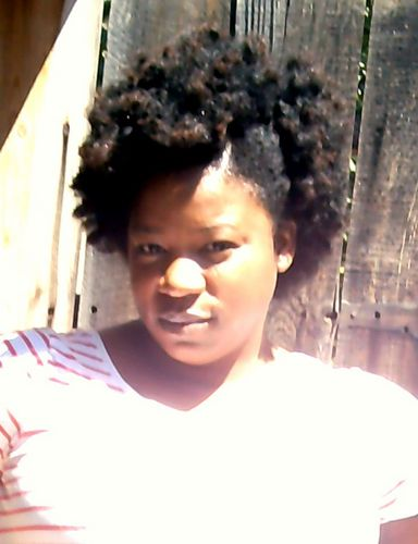 Big Textured fro! - Short hair styles, Readers, Female, Curly hair, Black hair, Adult hair Hairstyle Picture