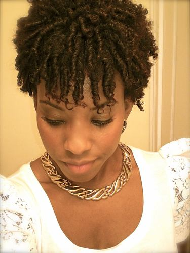 Effortless Finger Coils - Readers Hairstyle Picture