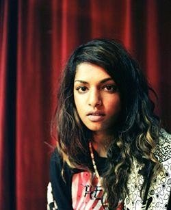 M.I.A. - Brunette, Celebrities, Wavy hair, Long hair styles, Female, Black hair Hairstyle Picture