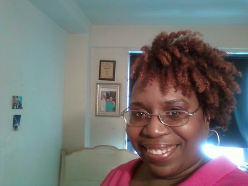 easter 2011 - Redhead, 4a, Short hair styles, Kinky hair, Readers, Styles, Female, Black hair, Adult hair, Twist out Hairstyle Picture