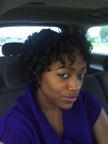 Curlformers - 4a, Short hair styles, Medium hair styles, Kinky hair, Readers, Female, Black hair, Adult hair, Spiral curls Hairstyle Picture