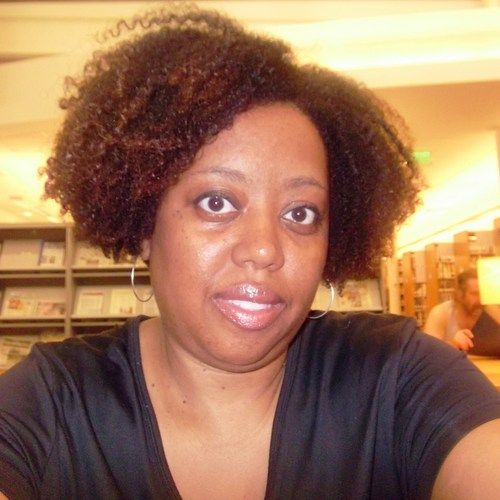MsTEXTURELuv - Brunette, 4b, Medium hair styles, Kinky hair, Readers, Styles, Female, Adult hair, Bob hairstyles, Curly kinky hair, Natural Hair Celebration Hairstyle Picture