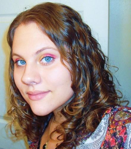 DSCF9004.JPG - Brunette, Wavy hair, Long hair styles, Readers, Female, Curly hair, Teen hair Hairstyle Picture