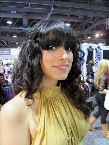 International Salon and Spa Expo - Brunette, Wavy hair, Long hair styles, Female, Curly hair, Black hair, Adult hair, Textured Tales from the Street Hairstyle Picture