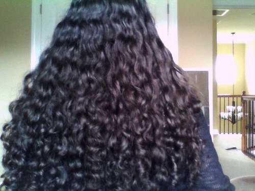 My Natural 3A Curls! - Brunette, 3b, 3a, Long hair styles, Readers, Female, Teen hair, Black hair, Adult hair Hairstyle Picture