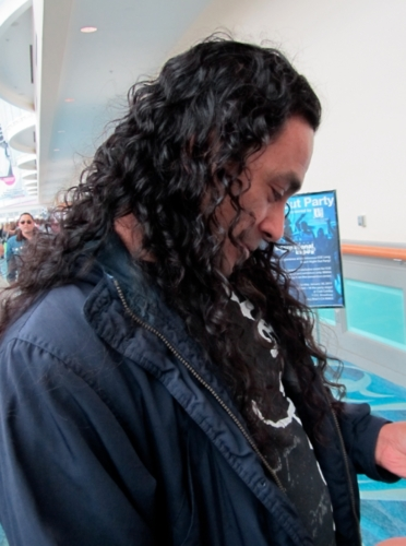 Curly man at ISSE - 3b, Male, Long hair styles, Styles Hairstyle Picture