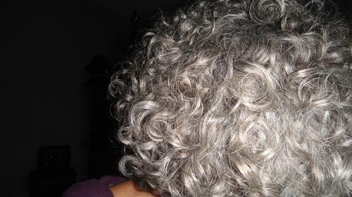Hair 6-3.JPG - Short hair styles, Readers, Female, Curly hair, Gray hair, Adult hair Hairstyle Picture