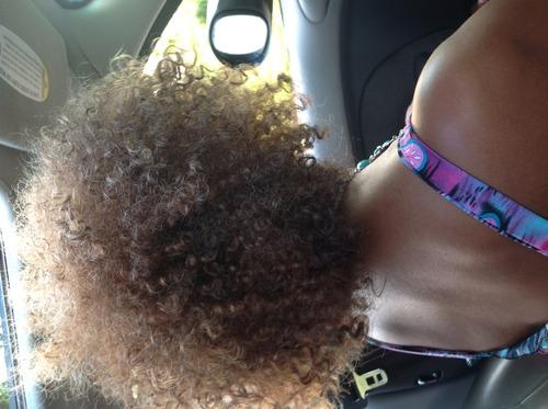 kinky curly spiral look - Brunette, 3b, 2b, Medium hair styles, Updos, Twist hairstyles, Afro, Wedding hairstyles, Readers, Female, Gray hair, Adult hair, Homecoming hairstyles Hairstyle Picture