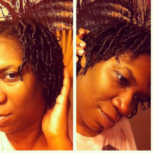 Finger coils - Short hair styles, Female, Curly hair, Black hair, Adult hair Hairstyle Picture