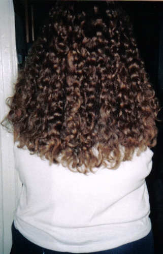 My Curls - Brunette, 3b, Long hair styles, Readers, Female, Curly hair, Teen hair, Adult hair, Spiral curls Hairstyle Picture