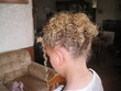 My daughters up-do