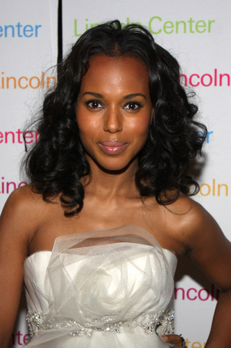 Kerry Washington - Celebrities, Medium hair styles, Kinky hair, Female, Black hair, Spiral curls Hairstyle Picture